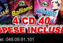 BALLIAMO ITALIANISSIMA 4 CD