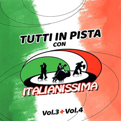 TUTTI-IN-PISTA-CON-ITALIANISSIMA-CD VOL.3-CD VOL.4